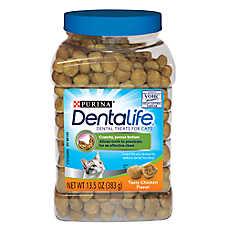 Purina® DentaLife Dental Cat Treats - Chicken