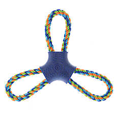 Top Paw® Rope Tri Flyer Dog Toy