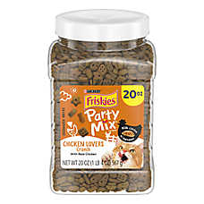 Purina® Friskies® Party Mix Favorites Cat Treat - Chicken