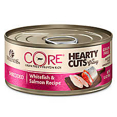 Wellness® CORE® Hearty Cuts Adult Cat Food - Grain Free, Whitefish & Salmon