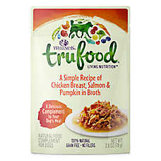 Wellness® TruFood® Compliments Dog Food - Natural, Grain Free, Chicken, Salmon & Pumpkin