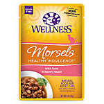 Wellness® Healthy Indulgence Morsels Adult Cat Food - Grain Free, Natural, Tuna