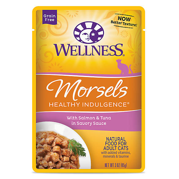Wellness 174 Healthy Indulgence Morsels Adult Cat Food
