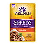 Wellness® Healthy Indulgence Shreds Adult Cat Food - Grain Free, Natural, SkipJack Tuna & Shrimp