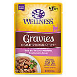 Wellness® Healthy Indulgence Gravies Adult Cat Food - Grain Free, Natural, Tuna & Mackerel