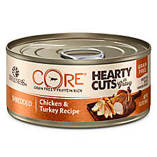 Wellness® CORE® Hearty Cuts Adult Cat Food - Grain Free, Chicken & Turkey