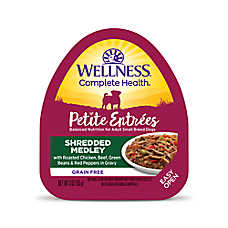 Wellness® Petite Entrees Small Dog Food - Grain Free, Roasted Chicken, Beef, Green Beans & Peppers