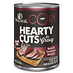 Wellness® CORE® Hearty Cuts Dog Food - Grain Free, Natural, Beef & Venison