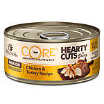 Wellness® CORE® Hearty Cuts Indoor Adult Cat Food - Grain Free, Chicken & Turkey
