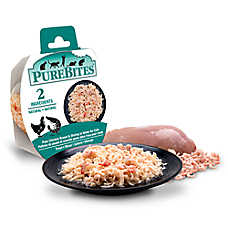 PureBites® Cat Food - Grain Free, Natural, Chicken Breast & Shrimp