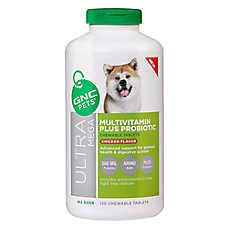 GNC Pets® Ultra Mega Multivitamin Plus Probiotics Chewable Dog Tablets - Chicken