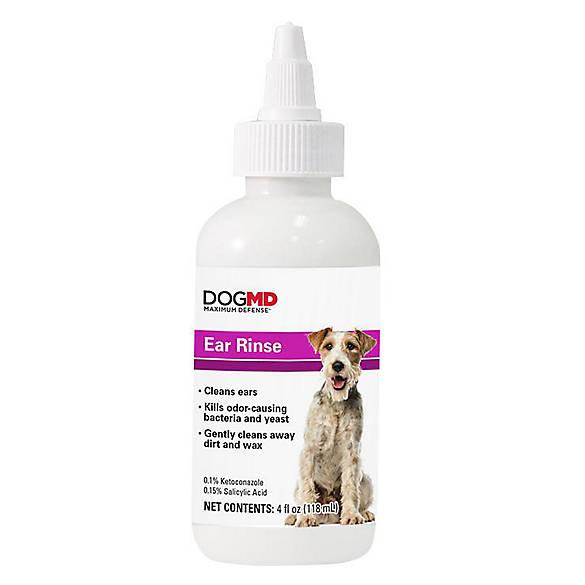 Dog Cat Md Maximum Defense Ear Rinse Dog Treatments Petsmart