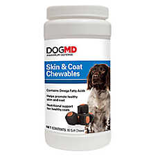 Dog MD™ Maximum Defense Skin & Coat Dog Chewables