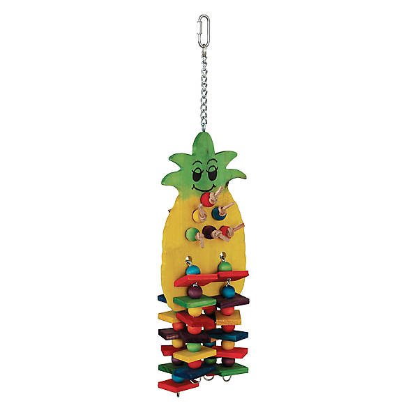 All Living Things 174 Pineapple Blocks Bird Toy Bird Toys
