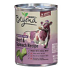 Purina® Beyond Grain Free Dog Food - Natural, Gluten Free, Beef & Spinach