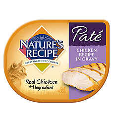 Nature's Recipe® Pate Cat Food - Chicken