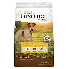 Nature's Variety® Instinct® Grain Free Small Breed Dog Food - Chicken Meal