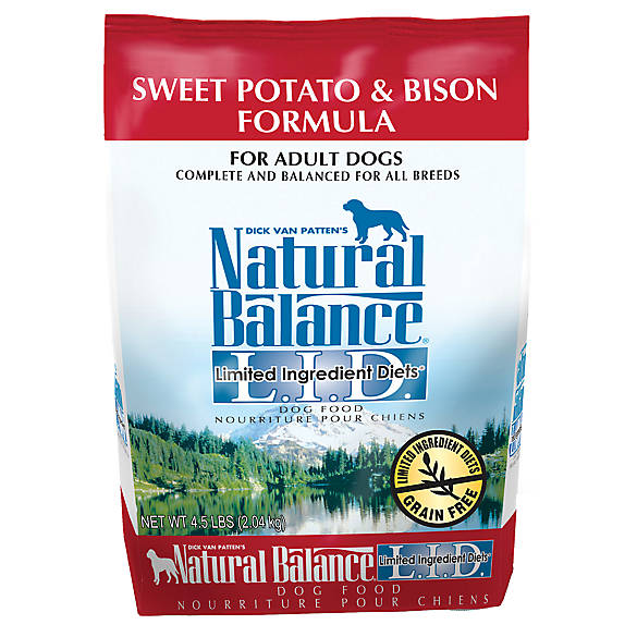 Natural Balance Dog Food Sweet Potato And Bison