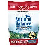 Natural Balance Limited Ingredient Diets Dog Food - Grain Free, Sweet Potato & Bison