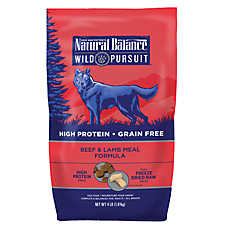Natural Balance Wild Pursuit Cat Food Beef Dry