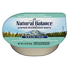 Natural Balance Limited Ingredient Diet Adult Dog Food - Grain Free, Chicken & Sweet Potato