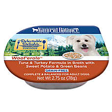 Natural Balance Delectable Delights Adult Dog Food - Grain Free, Woof'erole