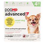 Dog MD™ Maximum Defense 3-10 lbs Advanced 2 Flea Treatment