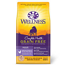 Wellness® Complete Health  Adult Dog Food - Natural, Grain Free, Chicken & Chicken Meal
