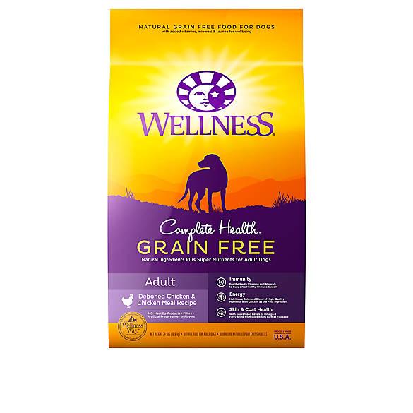 Wellness 174 Complete Health Adult Dog Food Natural Grain