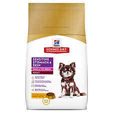 Hill's® Science Diet® Sensitive Stomach & Skin Small Breed Adult Dog Food - Chicken Meal & Barley