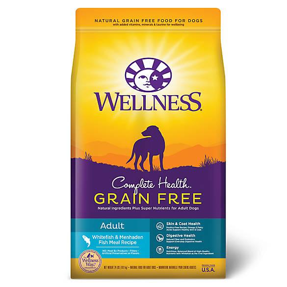 Wellness Complete Health Fish Dog Food