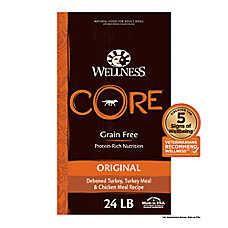 Wellness® CORE® Adult Dog Food - Natural, Grain Free, Original Formula