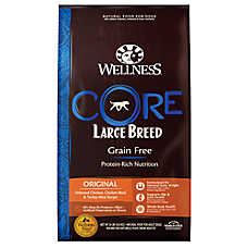Wellness® CORE® Large Breed Adult Dog Food - Natural, Grain Free