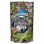 BLUE Wilderness® Bayou Biscuits Dog Treat - Grain Free, Gluten Free, Alligator & Catfish