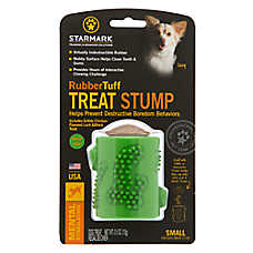 Starmark® RubberTuff Stump Treat Dog Toy