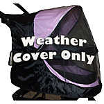 Pet Gear Happy Trails NO-ZIP Weather Cover