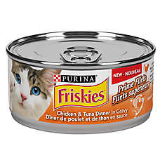 Purina® Friskies® Prime Fillets Cat Food - Chicken & Tuna