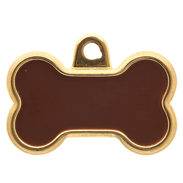 Tagworks 174 Elegance Collection Gold Bone Personalized Pet