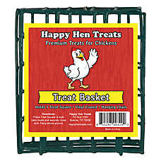 Happy Hen Treats Chicken Square Basket
