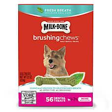 Milk-Bone® Brushing Chews® Dental Dog Treat - Mini