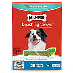 Milk-Bone® Brushing Chews® Dental Dog Treat - Small/Medium