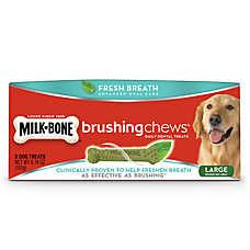 Milk-Bone® Brushing Chews® Dental Dog Treat - Large