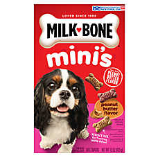 Milk-Bone® Mini's Dog Treat - Variety Pack, Peanut Butter