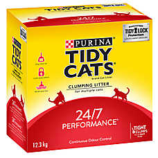 Purina® TIDY CATS® 24/7 Performance Cat Litter - Clumping, Multiple Cats