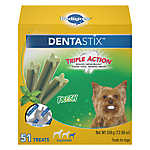 PEDIGREE® DENTASTIX® Triple Action Small Dog Treat - Fresh