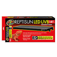 Zoo Med™ ReptiSun® LED UVB Reptile Terrarium Hood