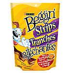 Beggin' Strips® Dog Treat - Bacon & Cheeseburger
