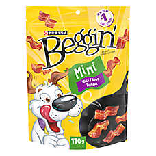 Beggin' Strips® Mini Dog Treat - Bacon