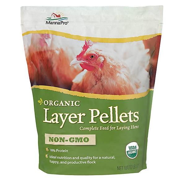Manna Pro Chicken Organic Layer Pellets Bird Pet Bird Food Petsmart