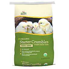Manna Pro Chicken Organic Chick Starter Crumbles